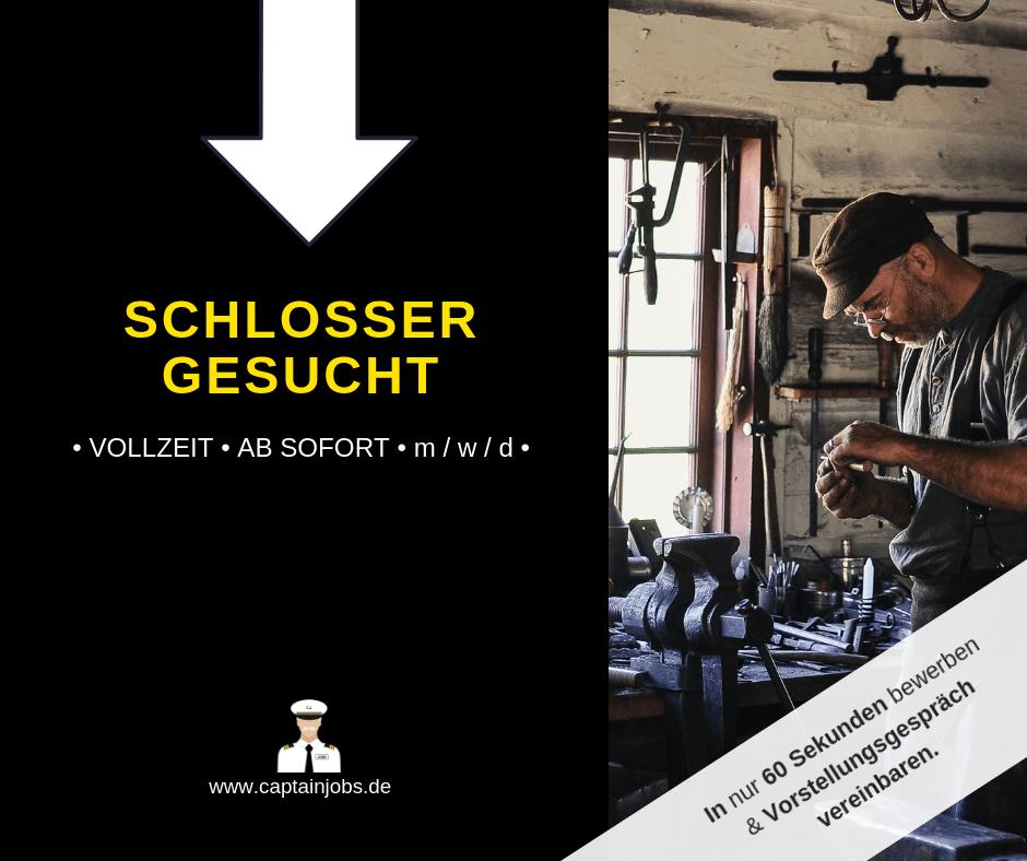 Schloss - Schlosser (m/w/d) in Berlin gesucht