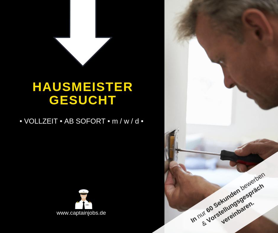 Hausmeister - Hausmeister (m/w/d) in München