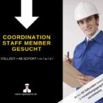 COORDINATION STAFF MEMBER 150x150 - Logistikmitarbeiter (m/w/d) Vollzeit in Nürnberg gesucht