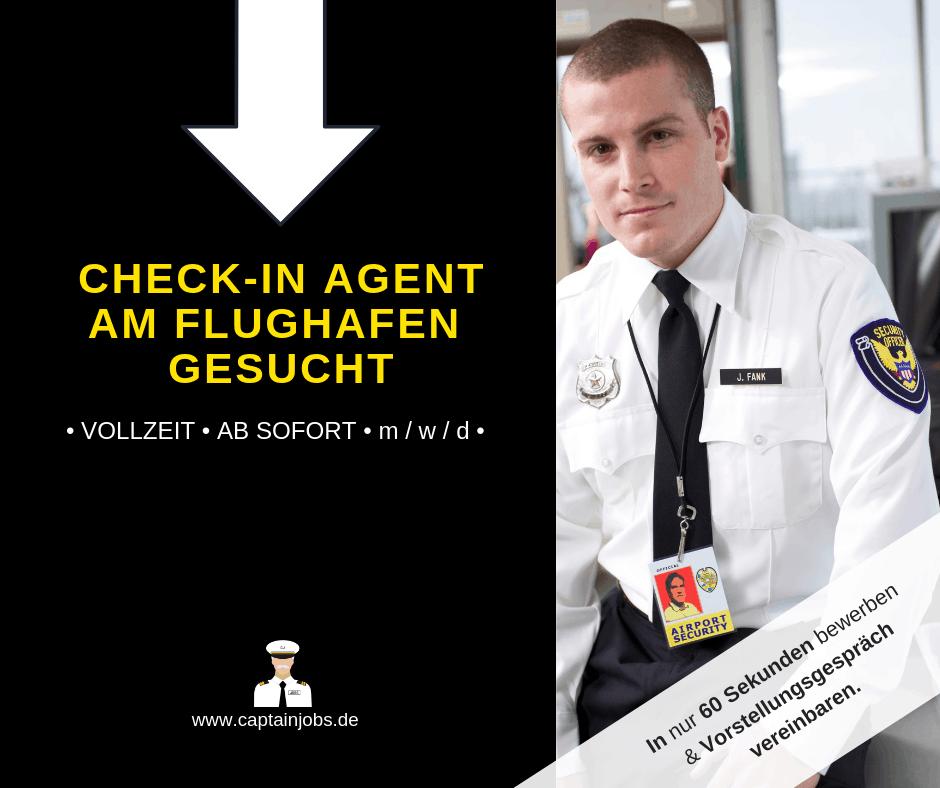 Checkin Agent - Check in Agent (m/w/d)