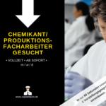 Chemikant 150x150 - Chemikant / Produktionsfacharbeiter Chemie (m/w/d)