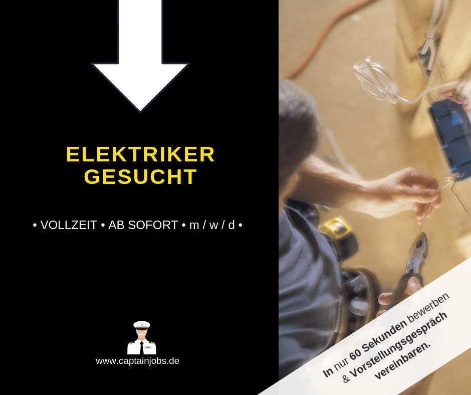 Elektriker - Elektriker (m/w/d) in München