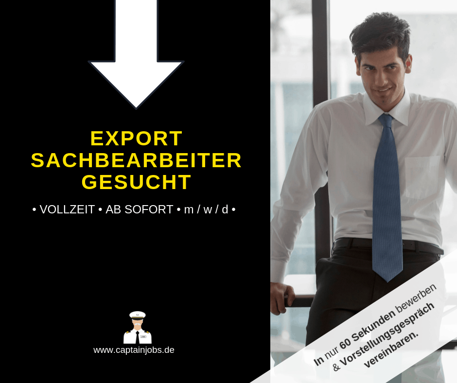 Export Sachb - Exportsachbearbeiter (m/w/d)