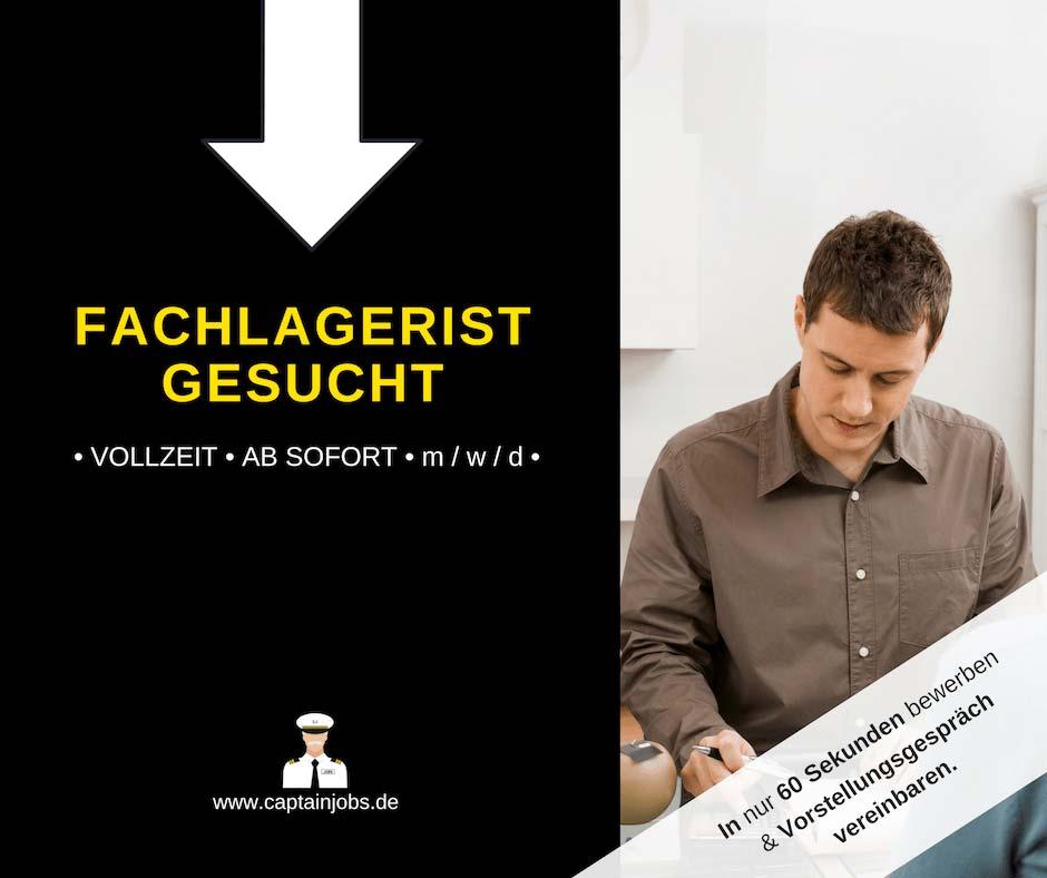 Fachlagerist - Fachlagerist (m/w/d) in Amberg gesucht