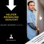 Helfer Reinigung 1 150x150 - Reinigungskraft Raumreinigung (m/w/d)