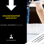 Housekeeper 150x150 - Mitarbeiter Housekeeping (m/w/d)