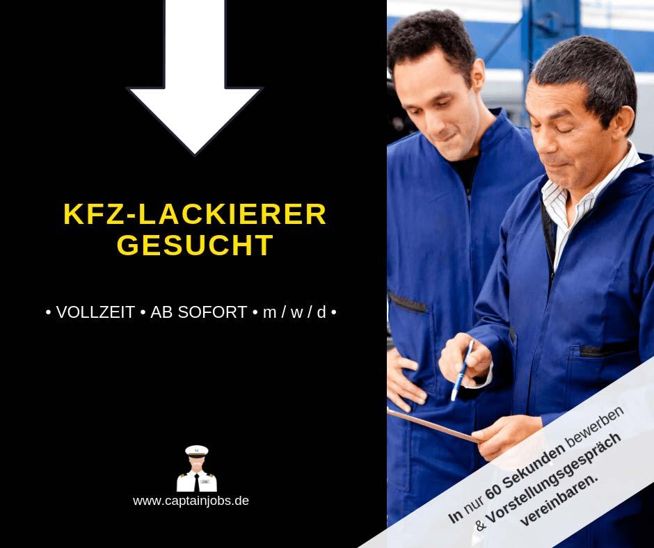 KFZ Lackierer - KFZ-Lackierer (m/w/d)