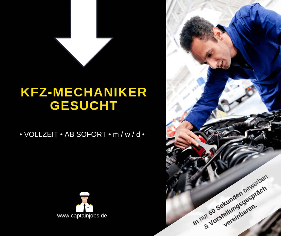 KFZ Mechaniker - Kfz-Mechaniker (m/w/d)