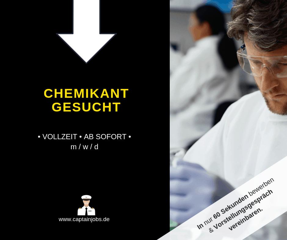 Kopie von Captain Jobs Thumbnail 18 - Chemie-Fachkraft (m/w/d) in München gesucht