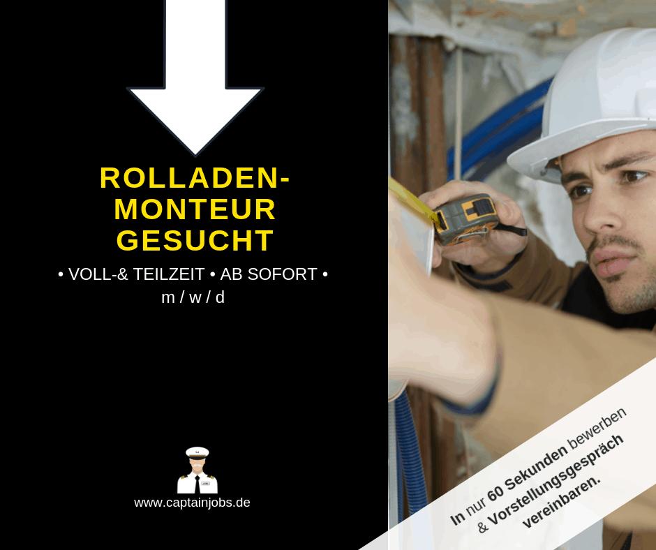 Kopie von Captain Jobs Thumbnail 3 1 - Rolladenmonteur (m/w/d) in Augsburg gesucht