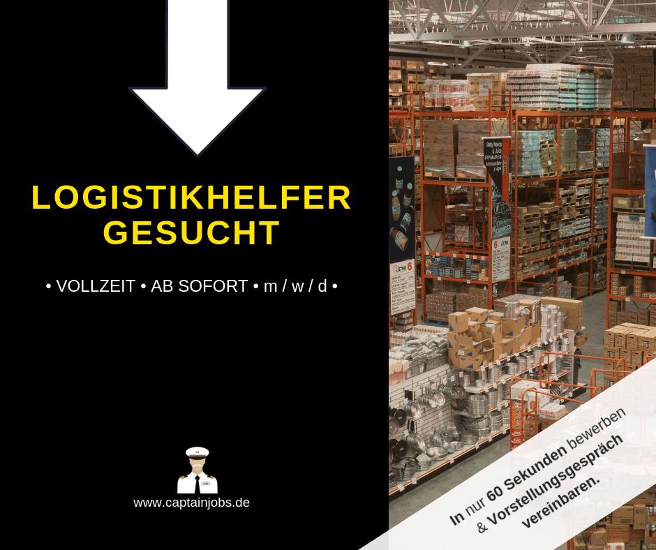 Lagerhelfer 1 - Wareneingang (m/w/d) in Augsburg gesucht
