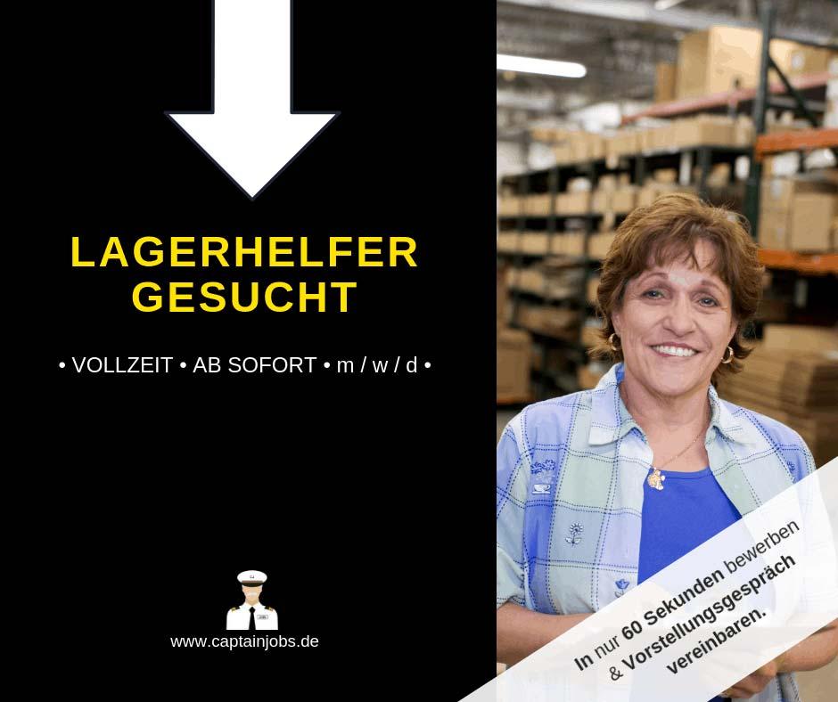 Lagerhelfer - Lagerarbeiter (m/w/d) in Augsburg