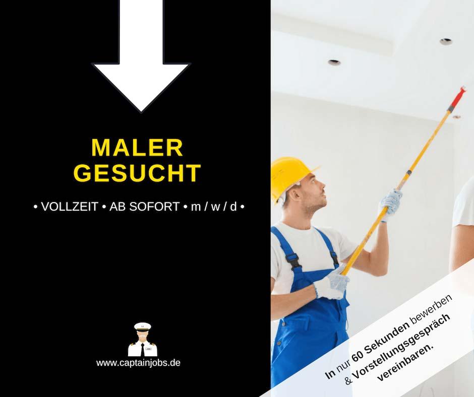 Maler - Maler und Lackierer (m/w/d) in Augsburg
