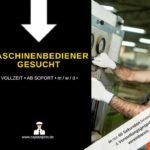 Maschinenbediener 150x150 - Maschinen-/Anlagenführer (m/w/d) in Amberg gesucht
