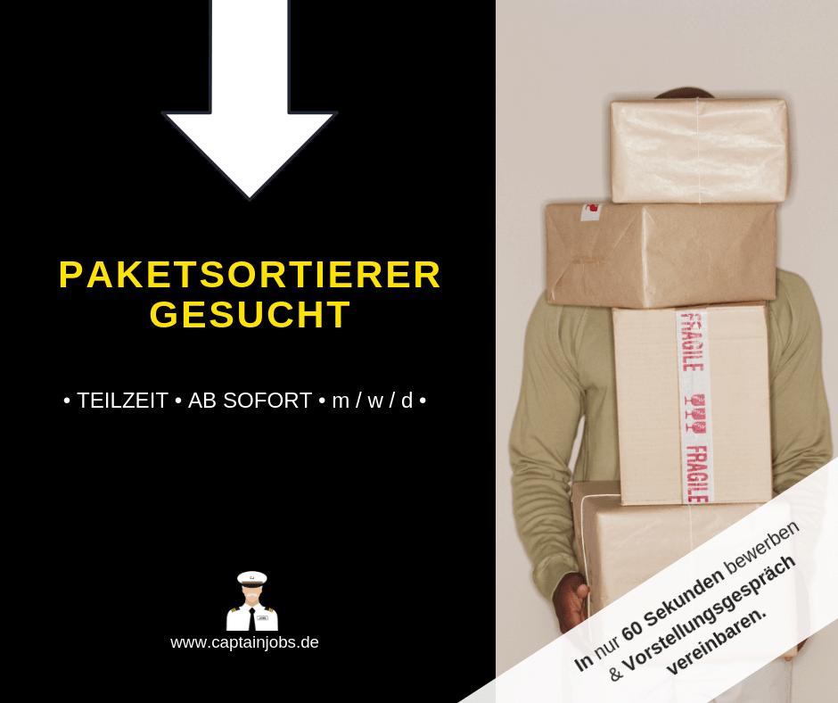 Paketsortierer Vollzeit - Paketsortierer mit Staplerschein (m/w/d) Schweinfurt