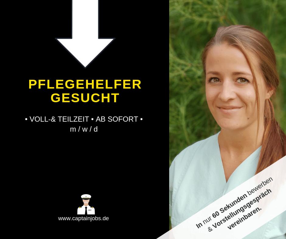 Pflegehelfer - Pflegehilfskraft m/w/d in Würzburg gesucht