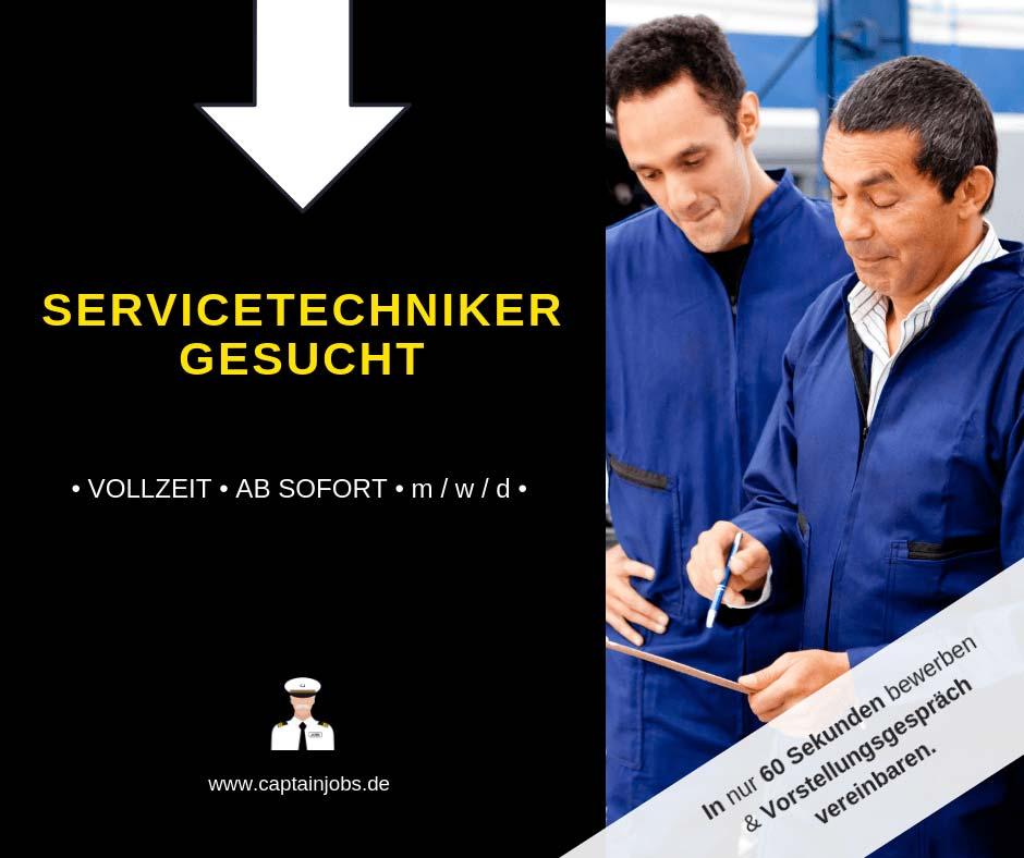 Servicetechniker - Servicetechniker (m/w/d) in Regensburg gesucht