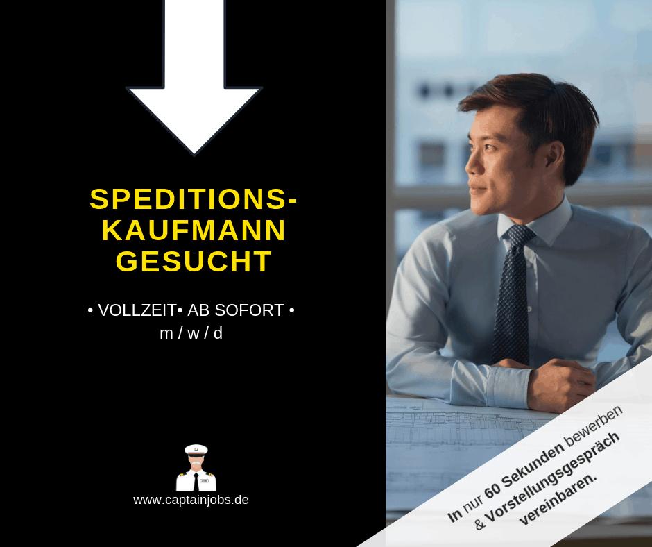 Speditionskaufmann - Speditionskaufmann (m/w/d)