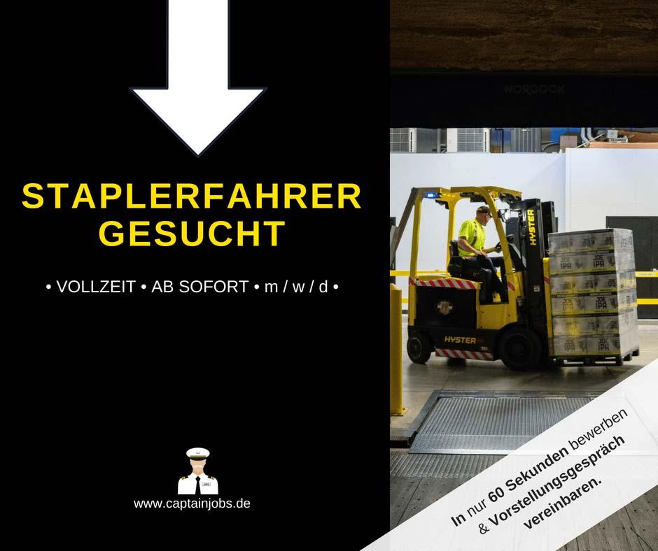 Staplerfahrer - Staplerfahrer (m/w/d)