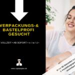Verpackungsprofi 150x150 - Bastel- bzw. Verpackungsprofi (m/w/d)