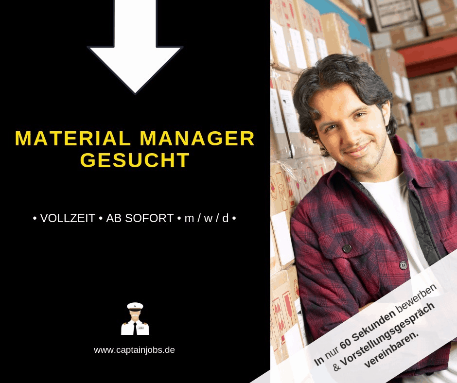 image - Material Manager (m/w/d) in Augsburg gesucht